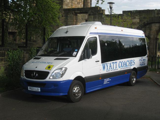 minibus hire in Barnsley