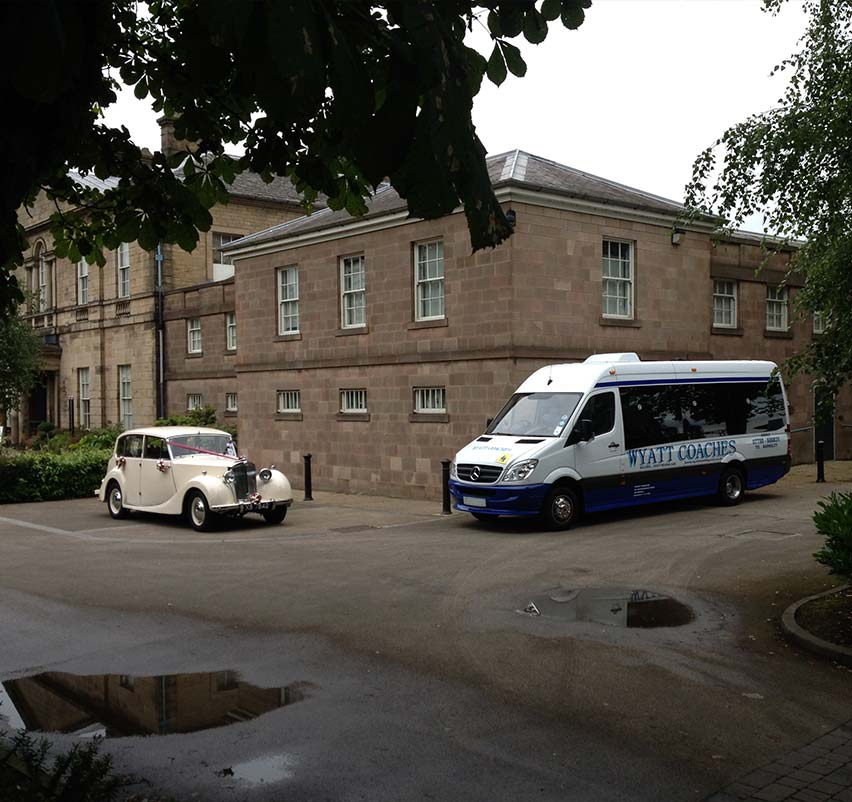 Wedding Minibus Hire in Barnsley