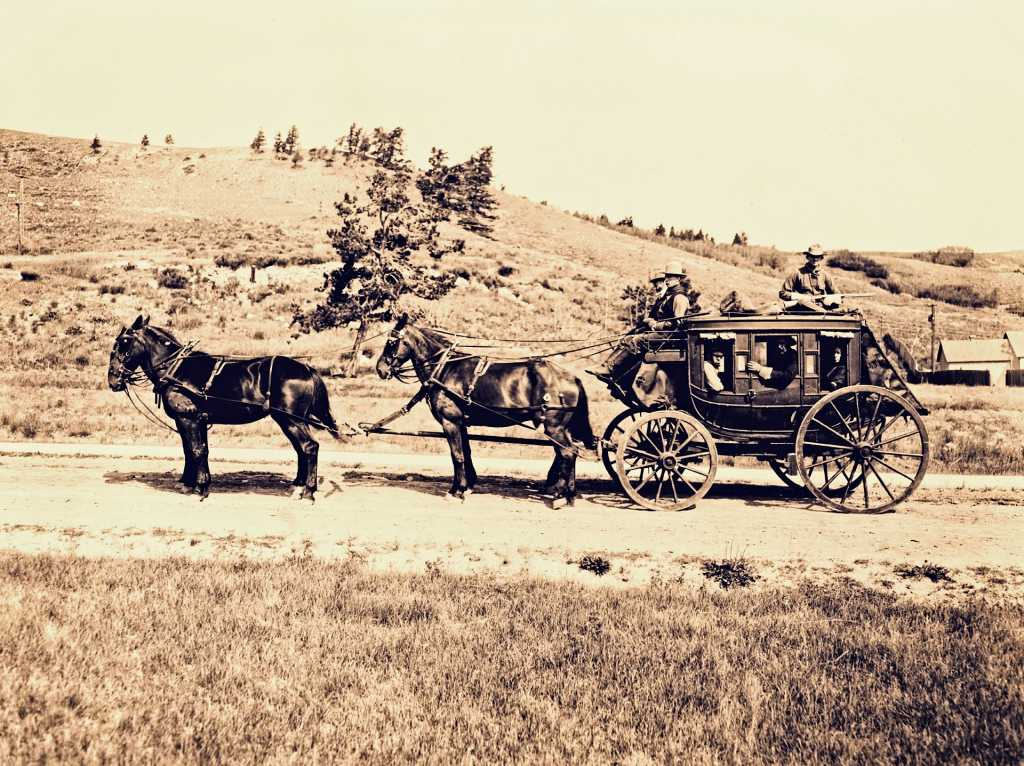 stagecoach in 19th century