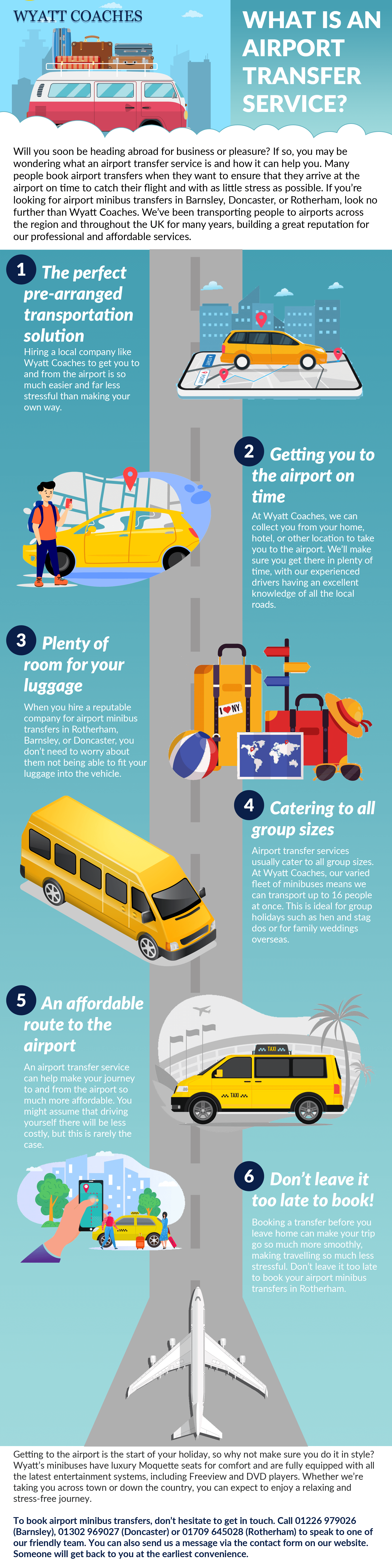 What is an airport transfer service [infographic]